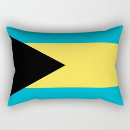 Bahamas flag Rectangular Pillow