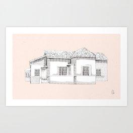 come home Art Print