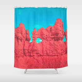 Hoodoo's Voodoo In the Best Possible Way (Bryce Canyon) Shower Curtain