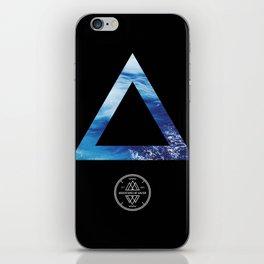 The Ocean Triangle iPhone Skin