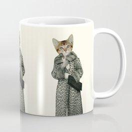 Kitten Dressed as Cat Coffee Mug