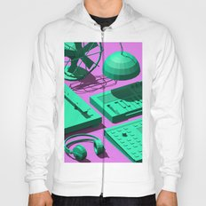 Low Poly Studio Objects 3D Illustration Hoody