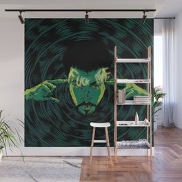 Mind-control powers in good use Wall Mural