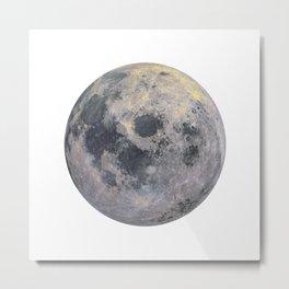 Golden Moon Metal Print