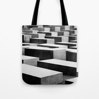berlin Tote Bags featuring Berlin by Studio Laura Campanella