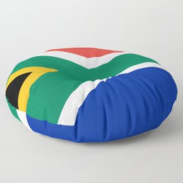 South Africa Flag Floor Pillow