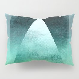 Triangle Composition X Pillow Sham