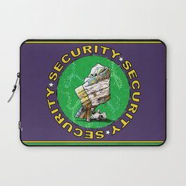 Blanket & Bear Security Laptop Sleeve
