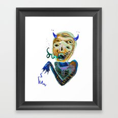demoniooOOoOOoOooo #2 Framed Art Print