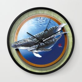 DW-021 Song Of The Sea Wall Clock
