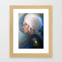 Holy Knight Framed Art Print