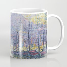 View of the Port of Marseilles Coffee Mug