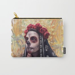 """Katrina"" - Skull girl Carry-All Pouch"