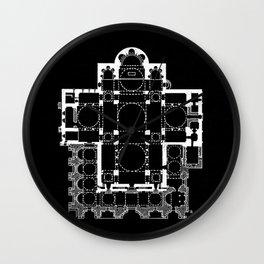 San Marco Plan Wall Clock