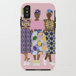 GIRLZ BAND iPhone Case