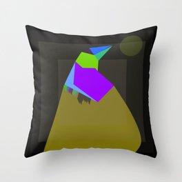Kicku Kicku Throw Pillow