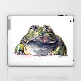 Bullfrog Snacking Laptop & iPad Skin