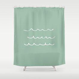 Water - Minimal FS - by Friztin Shower Curtain