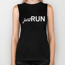 Just Run! Biker Tank