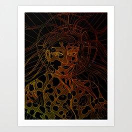 Sunna/Sol Art Print
