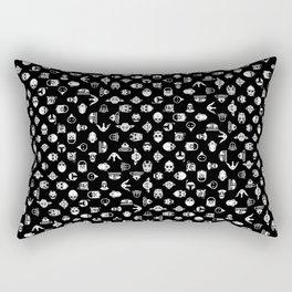 Classic StarWars Icons Rectangular Pillow