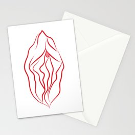 it's clitorical Stationery Cards