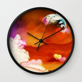 Coming Home Wall Clock