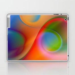 a towel full of colors Laptop & iPad Skin