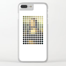 Mona Lisa Clear iPhone Case