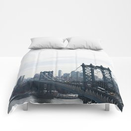 Manhattan Bridge Comforters
