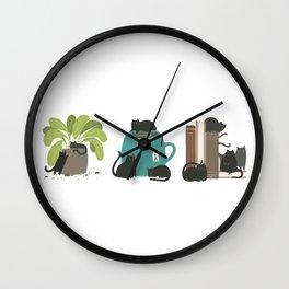 CATS + THINGS Wall Clock