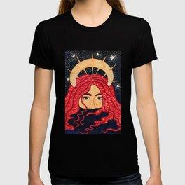 floating goddess T-shirt