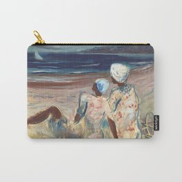 On the Beach by Victor Laredo Carry-All Pouch