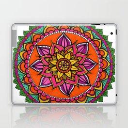 Mandala hojas Laptop & iPad Skin