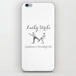 Lucky Strike iPhone Skin
