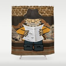 Afonso Larguinho Shower Curtain