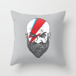 Medieval Warrior Throw Pillow