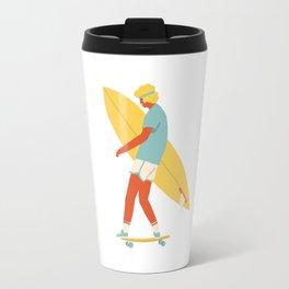 Skater from 70s Travel Mug