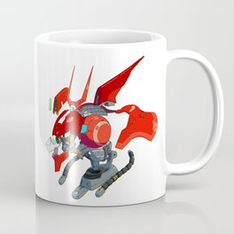 MSN-04 Sazabi Head Diagram Coffee Mug