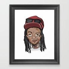 Weezy Framed Art Print
