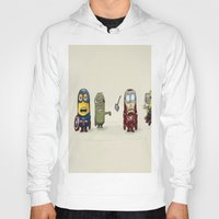 minion Hoodies featuring Minion Avengers by CforCel