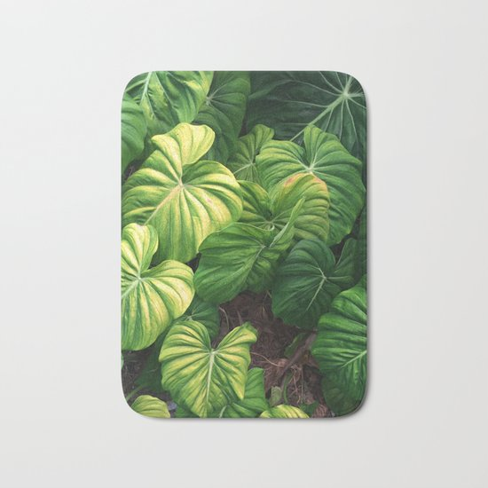 Australia tropical plants Bath Mat