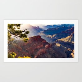 Grand Canyon, Arizona - South Rim Art Print
