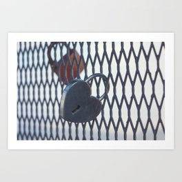 Locks of Love Art Print