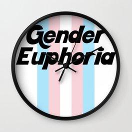 GENDER EUPHORIA Wall Clock