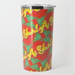 Ai Yah! Pattern Travel Mug