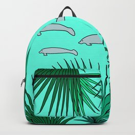 Florida Manatees Backpack