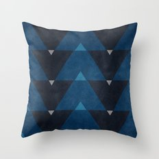 Greece Arrow Hues Throw Pillow