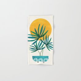 Little Palm + Sunshine Hand & Bath Towel