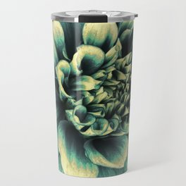 La Dahlia Blue Travel Mug